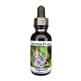 Peppermint flower essence bottle