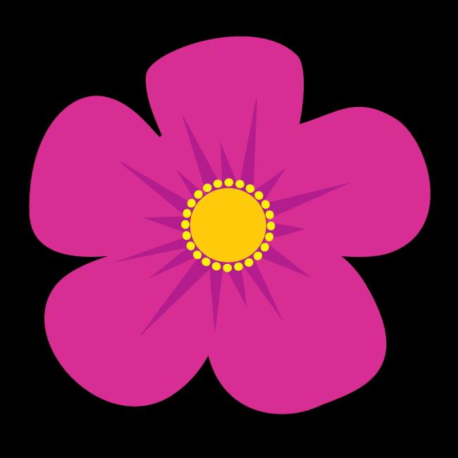 pink daisy icon