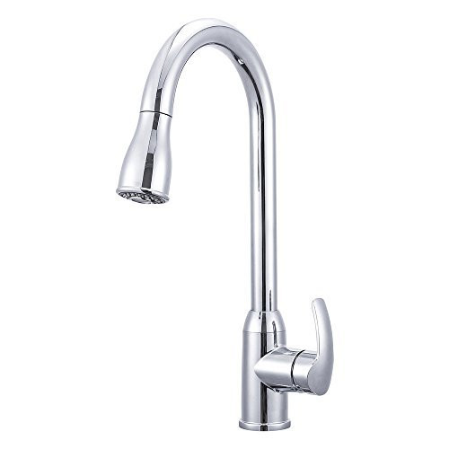 Heavy Duty Single Lever Pull-Down RV Kitchen Faucet  sc 1 st  RV Faucets at RVFaucet.com & Heavy Duty Single Lever Pull-Down RV Kitchen Faucet - RV Faucet