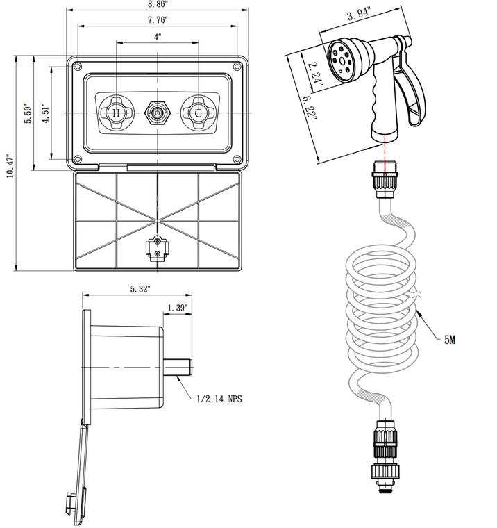 ProUser 19126 Voltage Converter Sine 400 W PSI400