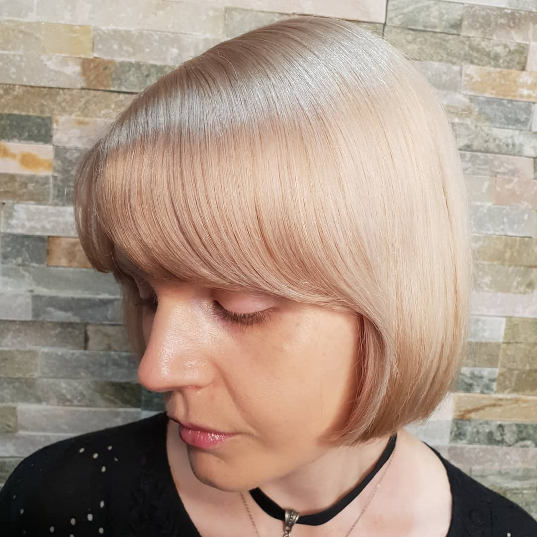 Creamy minky beige biscuite blonde loveliness by Ross