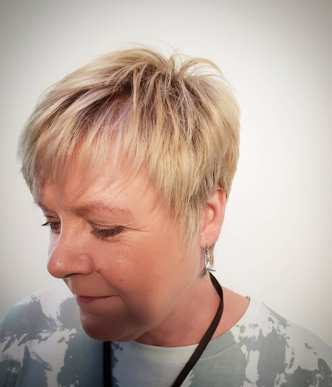 Lovely soft blonde crop by Nichola
