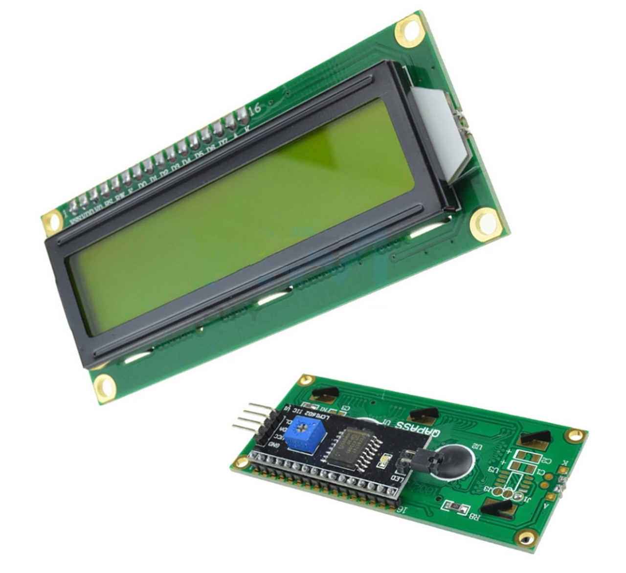 LCD 16x2 backlight /w I2C