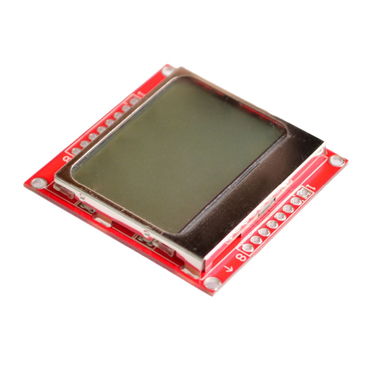 10PCS 84*48 Nokia LCD Module Board White Backlight Adapter PCB for Nokia 5110