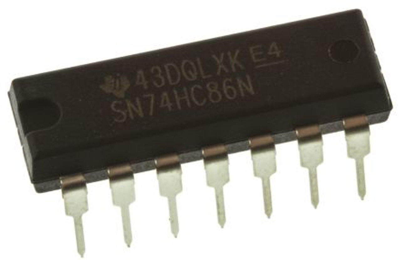Sn74hc86n  Quad 2-input Xor Logic Gate Ic