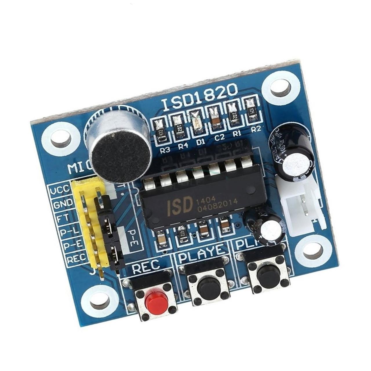 ISD1820 Sound Voice Recording Playback Module