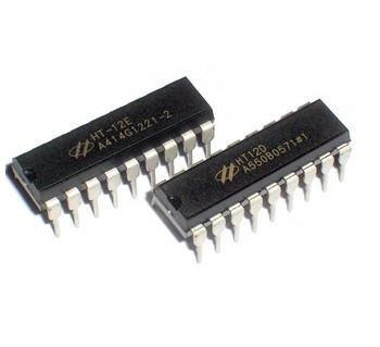 HT12E/D Encoder/Decoder for Rf Modules