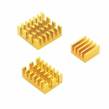 3pcs Raspberry Pi 4 Aluminum Heat Sink