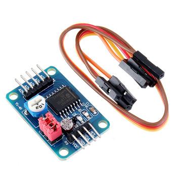PCF8591 AD/DA Temperature Illumination Converter