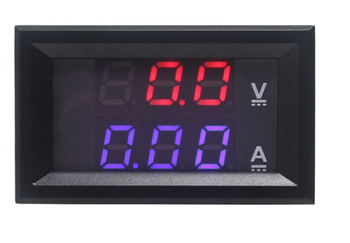 DC 0-100V/50A Digital voltage current meter