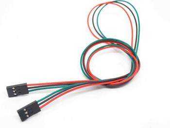 70cm 3 Pin Female to Female Jumper Wire