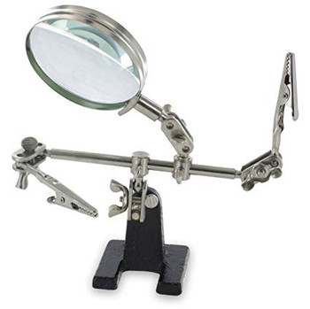 Ram-Pro Helping Hands Magnifier Glass Stand