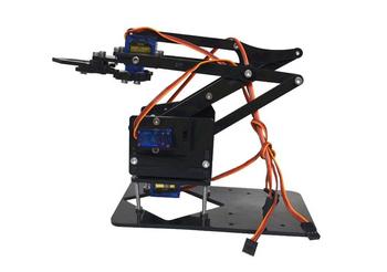 4 DOF  Acrylic Robot arm arduino
