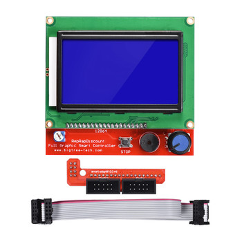 3D printer smart controller 1.4 LCD 12864 display