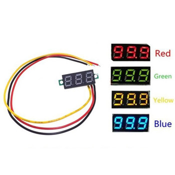 DC 0-100V Digital Voltmeter LED Display