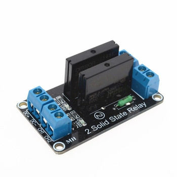 5V 2 CH OMRON SSR Solid Relay Module