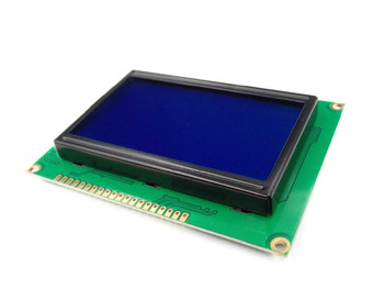 Graphic LCD 128x64 ST7920 Parallel Port