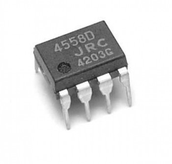 JRC4558 Dual Operation Amplifier IC