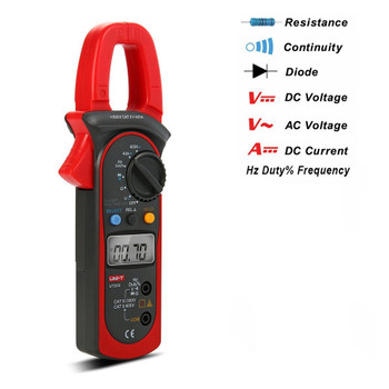 UT-203 Digital Clamp 3 3/4 Ohm DMM DC AC Multimeter