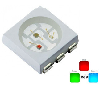 3528 RGB LED Common Anode SMD