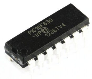 PIC16F630-I/P DIP14 IC
