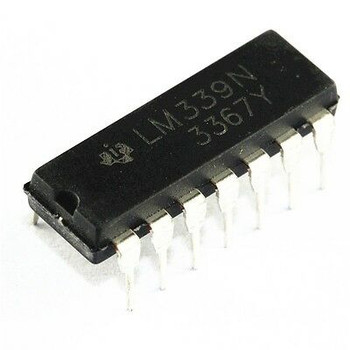 LM339N Quad Single Supply Comparator IC