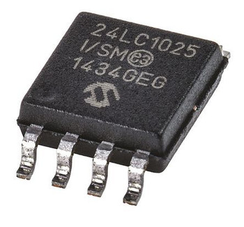 24LC1025-I/SM -  EEPROM, Serial I2C (2-Wire) IC