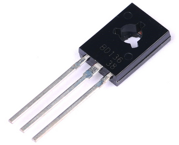 BD136 TO-126 PNP Power Transistor Output 45V 1.5A