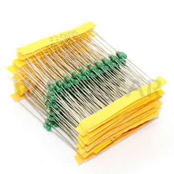 1/4W Inductor Assortment 0307 0.25W Kit (120pcs)