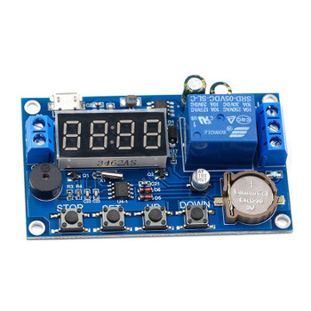 DC 5V-60V Real-time Relay with Clock Synchronization Timer Module