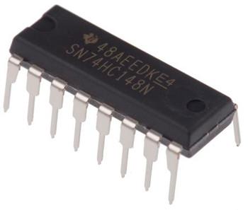 SN74HC148N, Priority Encoder IC