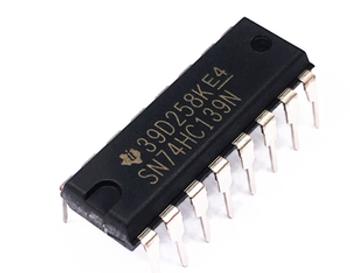 SN74HC139N, Dual, Decoder, Demultiplexer IC