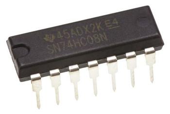 SN74HC08N, Quad 2-Input AND Logic Gate IC