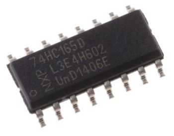 74HC165D 8-stage Shift Register SMD IC