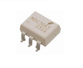 MOC 3063 SMD Optotriac+ZCD  SMD IC