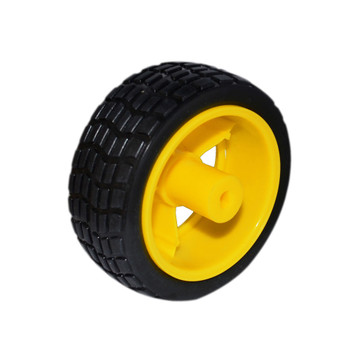 Rubber Wheels 65x26mm