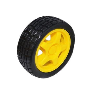 Rubber Wheels 65x26mm