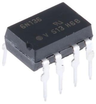 6N136 DC Input Transistor Output Optocoupler IC