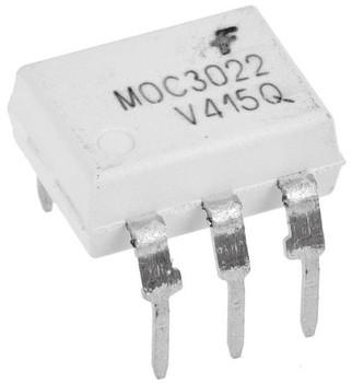 MOC3022 AC Input Phototriac o/p Optocoupler IC
