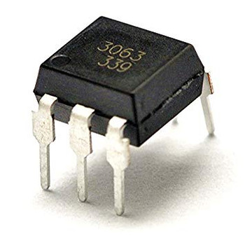 EL3063 DIP-6 opto-triac zero cross IC