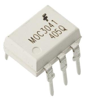MOC3041 DC Input Triac o/p Optocoupler IC
