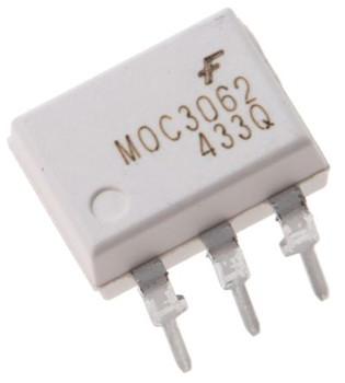 MOC3062 Triac Output Optocoupler IC