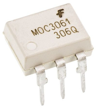 MOC3061 AC Input Triac Output Optocoupler IC