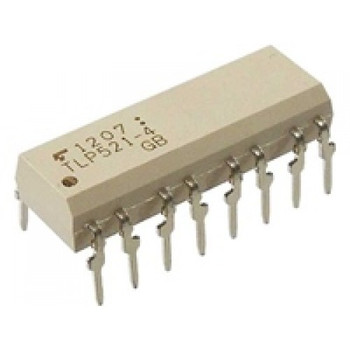 TLP521-4(GB) - Quad Optocoupler IC