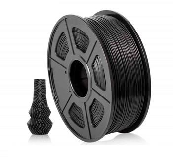 1.75mm 1Kg Black PLA Filament