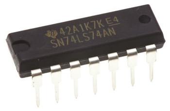 SN74LS74AN Dual D Type Flip Flop IC