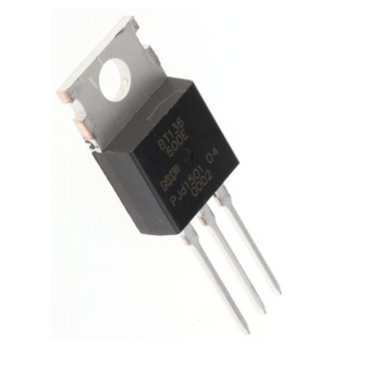 BT136-600E,4A, 600V, TRIAC, Gate Trigger