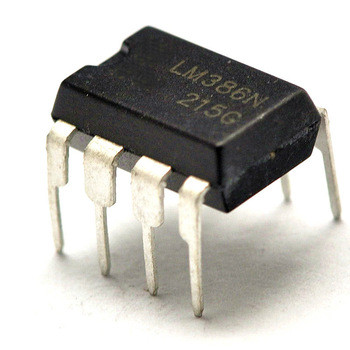 LM386N-3 Audio Amp 325 mW, DIP, 8 Pins