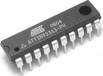 ATTINY2313A-PU 128 B Flash, 20-Pin PDIP