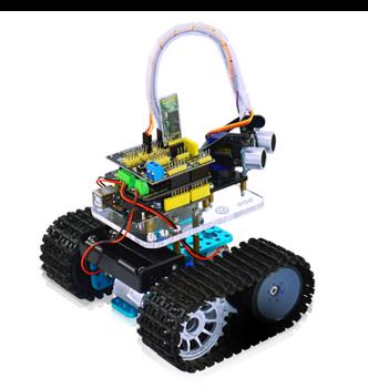 Arduino Tank Robot RC Control STEM Kit